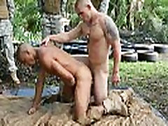 Gay male twinks fuck straight male soldiers and military dudes nude