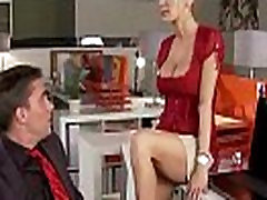 Slutty big tit office worker loves to be dominated at work 20