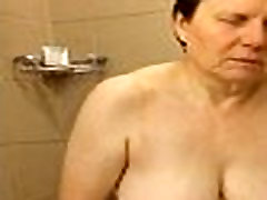 60 Big Tits Mom Shower Masturbation - FREE www.WebCummers.com