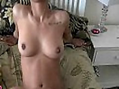 Babe with big ass receives fingered