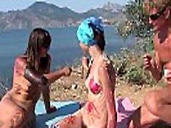 Family Nudist Yoga 1d