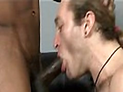 Black Muscular Gay Dude Fuck White Twink Hard In His Tight Ass 24