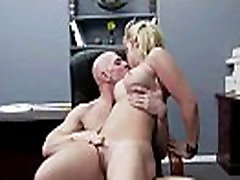 Horny Naughty Girl sarah vandella With Big Tits Get Sex In Office clip-28