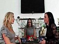 Action Sex Scene With Horny Lesibian Milfs Brianna Ray &amp Kristen Cameron &amp Natalie movie-2