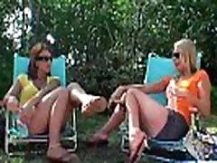 Brianna Ray &amp Olivia Sinclair Naughty Mature Lesbian Ladies Play On Cam mov-27