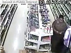 aunty groceries thefting in bra and panty