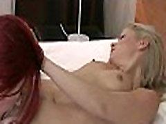 Lesbian babes rubbing