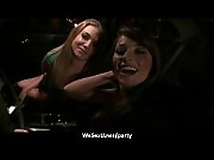 Naked teen chicks drink and do party sex 21