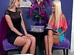 Brianna Ray &amp Nikita Von James Mature Sexy Lesbians Playing In Sex Scene movie-26