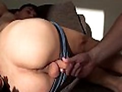 Russian twink Ton fucked with dildo and anal beads go Ass-to-Mouth