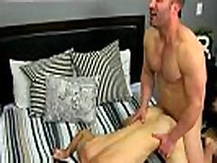 Naked boxing gay twink Brock Landon is thinking dinner plans, but his