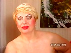 Blonde bbw granny