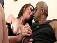 Sexy busty MILF Suck Black Cock While Her Husband Watch 02