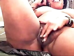 Ebony Milf Playing on Webcam - See more at faporn69.com