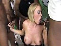 College slut gangbanged by huge black cocks 18