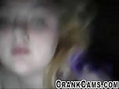 Cute Fat Freshman Girl Masterbates on Webcam - crankcams.com