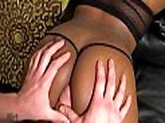 Stunning sex with ebon babe