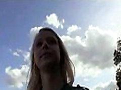 Público De Recogida Adolescente Amateur Chica Se La Follan Al Aire Libre 24