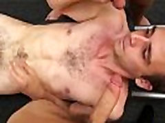 Nude straight hunks gay Fitness trainer gets rectal banged
