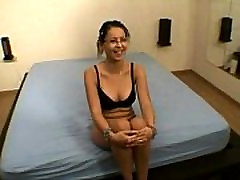 french girl first anal casting. painful fuck