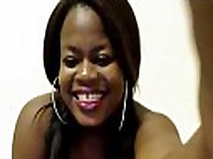 Ebony Babe with Big Tits and Ass Webcam Porn