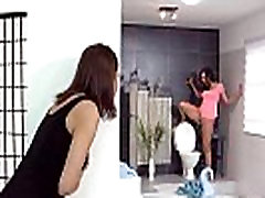 Lesbian piss in mouth for 2 horny teens