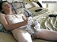 Twink boy show creamy damian big cock