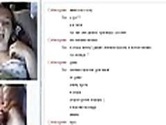 Compilation of Hot Teens on Chatroulette Omegle Working For The Cumshot