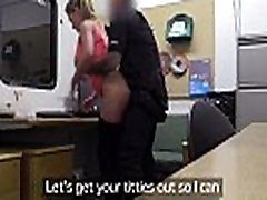 Cocksucking amateur fucked at police office