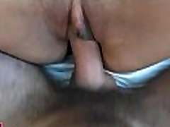 Shaved pussy lanced by shlong