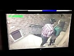 Hidden camera caught young couple fucking in hallway on SpyAmateur.com