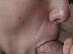 Dick fucks gay mouth and a-hole