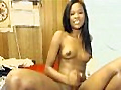 cute black teen from BlacksCrush.com ride dildo