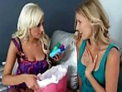 Sex Tape With Horny Sexy Mature Lesbians clip-28