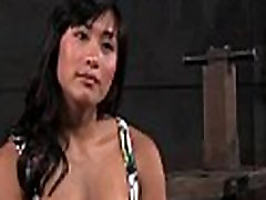 Shackled Asian Slut&039s Pussy and Mouth Used: Free HD Porn d5 - abuserporn.com