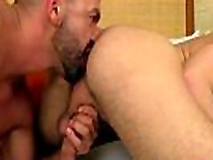 Fat nasty old gay bear porn A Meeting Of Meat In The Shower