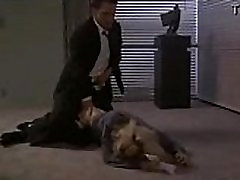 Boss roughly and forcefully anal his secretary in his house