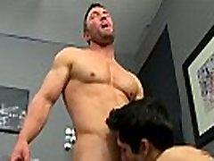 Gay cum facials porn He gets on his knees and deep throats Brock&039s