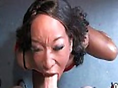 Hot ebony bukkake gangbang 26
