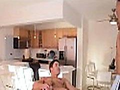 Undressed homo massage video