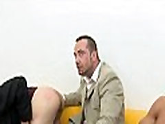 Immodest blowjob for lusty homo