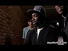 Black Muscular Boys Fuck Gay White Twinks Video 06
