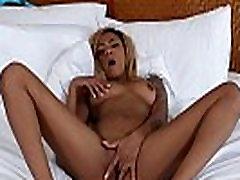 Hot ebony slut creampied