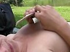 SEXY young TEEN is paid for sex in a public park