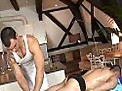 Gay massage porn clip