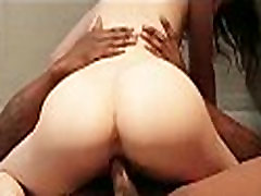 Pale white girl gets long black dick 1 5