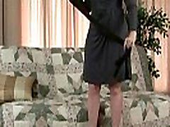Pantyhose ignite mom&039s lust for solo sex