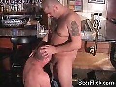 Big juicy gay bear homo sex by BearFlick gay boys