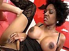 MAGMA FILM Busty Ebony babe has a fine ass