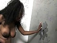 Interracial - White Lady Confesses Her Sins at Gloryhole 25